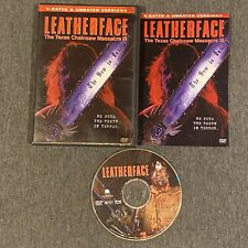 Leatherface: The Texas Chainsaw Massacre 3 (Dvd, 2003) w/ Insert