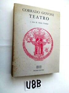 FERRARA CORRADO GOVONI TEATRO BULZONI  EDITORE 1984  (U8B)