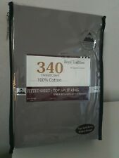 Royal Tradition Beddings by Egytains Linens 100% cotton fitted sheet split king