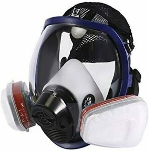 Full Face Cover, Dust & Paint Face Cover, for Painting, Dust, Sawdust, Machining