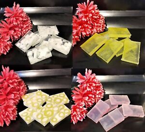 HANDMADE  FRAGRANCE SOAP SLICES/BARS. PURCHASE 4 TOGETHER TO GET OFFER