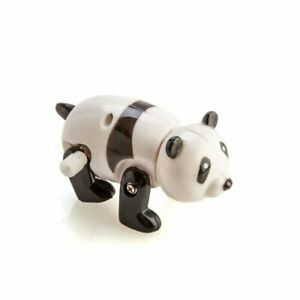 Cute Wind Up Roaming Panda Looking for Bamboo Wind the Knob and Watch it Go