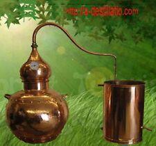 Alambic cuivre 15 L Avec le thermomètre.