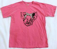Comfort Colors Girlie Girl Originals SMALLLeopard Preppy Bandana Pig T-Shirt Tee