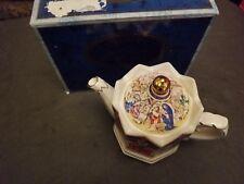 Sadler Tea Pot Vintage England Christmas Three Kings