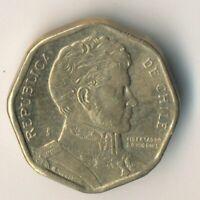 COIN / CHILE / 5 PESOS 1999    #WT8685