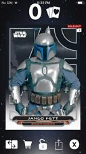 Topps Star Wars Digital Card Trader Galactic Files AOTC Jango Fett Insert Award