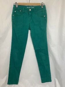Girl's Justice Shine Bright Size 14 R 14R Simply Low Irish Kelly Green Jeans