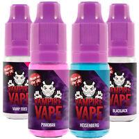 Vampire Vape - 10 x 10ml Bottles - Heisenberg, Dawn, Dusk, Pinkman UK E-Liquid