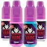 Vampire Vape - 5 x 10ml Bottles - Heisenberg, Vamp Toes, Pinkman UK E-Liquid