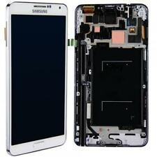 Original samsung note 2 n7100 LCD Display écran tactile complet cadre-Blanc