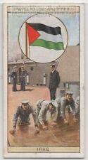 Flag Kingdom Of Iraq Under British Administration 80+ Y/O Ad Trade Card
