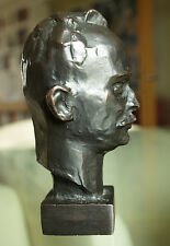 Michail Alexandrowitsch Scholochow. Kl. Büste. Metall bronziert.