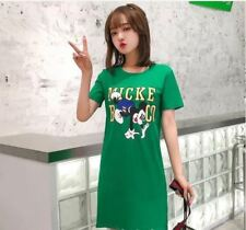 LADIES BASIC DRESS 8223 AG - GREEN