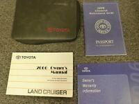 2006 Toyota Land Cruiser SUV Owner Owner's Manual User Guide 4.7L V8