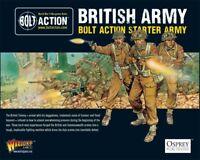 Bolt Acción Motor de Arranque Ejército - Británico 28mm Juego Inicio Warlord