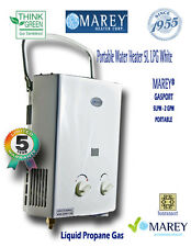 Tankless Hot Water Heater Best Portable Propane LP Gas RV/Camper Food Truck