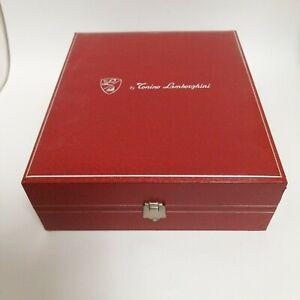 Authentic Tonino Lamborghini Jewelry Presentation Box Case