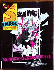 b)SPIROU N°2439; S.O.S. Bonheur