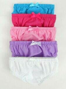 """ACCESSORIES FOR 17"""" BABY BORN 16"""" CPK DOLL~5 x UNDIES/KNICKERS (3) MULTI COLOURS"""