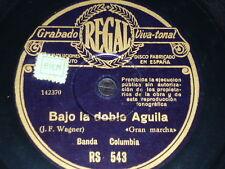 ORCHESTRA 78 rpm RECORD Regal BANDA COLUMBIA Bajo la doble águila WWII German