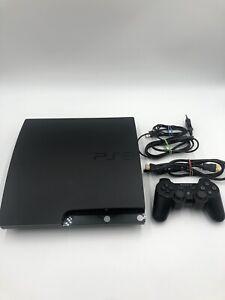 Sony PlayStation 3 Slim (CECH2504B) 320GB Konsole, PS3 inkl. Controller