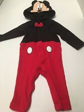 Disney Baby 3-6 Months Cotton/Polyester One Piece Outfit With Hood