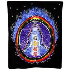 Telo da muro BATIK CHAKRA Multicolore 106 x 90 cm meditazione yoga