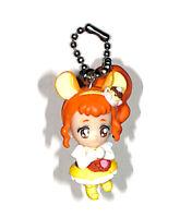 Pretty Cure Charm Mascot Keychain Cure Custard KiraKira A La Mode Swing Figure