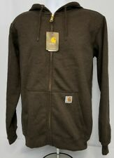 Carhartt Midweight K122 Hooded Zip Front Sweatshirt. Men's size LARGE