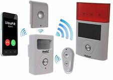 Battery 3G GSM ULTRAPIR Alarm with Wireless External & Internal Sirens