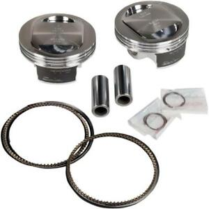 Revolution Performance Big Bore Piston Kit (107in. Domed) 301-106W