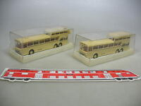 AF12-0,5# 2x Brekina H0 6101 Bus Mercedes-Benz MB O 317 AFAG, TOP+OVP