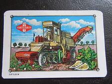 VEB Fortschritt Landmaschinen-Erntemaschine-DDR Taschenkalender 1990