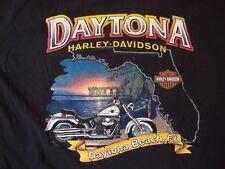 Harley-Davidson Motorcycles Daytona Beach, Florida 2005 Souvenir T Shirt Size L