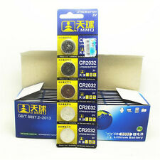 Lots 5PCS DL2032 CR2032 LM2032 3V Button Cell Coin Battery for Watch Toys Remote
