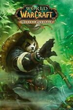 """WORLD OF WARCRAFT POSTER """"MISTS OF PANDARIA"""" LICENSED """"BRAND NEW"""""""