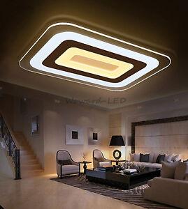 WOW!  LED Deckenlampe Deckenleuchte 16W bis 143W dimmbar Lampe Beleuchtung