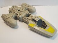 VINTAGE Kenner 1983 STAR WARS Y-WING FIGHTER ROTJ - For Parts Or Repair