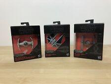 Star Wars Tie Fighter The Black Series Titanium Series #4, Striker #30, Tie #28