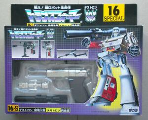 TRANSFORMERS G1 Takara Japan reissue Unused Mint Unmodif. 16-S MEGATRON e-Hobby