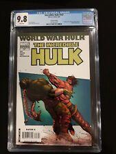 The Incredible Hulk 107 2nd Print CGC 9.8 White Pages World War Hulk Hercules