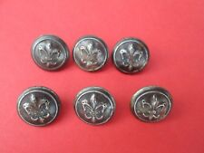 Poland ZHP Stare Metalowe Guziki Harcerskie - Vintage Scout Metal Buttons