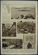 Jersey Channel Islands Minquiers Ecrehou Sovereignty Dispute 1953 Page Article