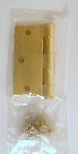 "B1640  3 1/2"" Standard Weight Full Mortise Door HInge Brass"