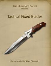 Tactical Fixed Blades (DVD) / bladesmithing/ knifemaking / knife making
