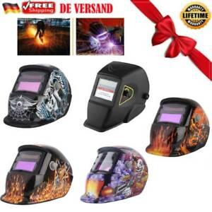 Automatik Schweißhelm Schweißmaske Solar Schweißschirm Maske Klasse A++ DE