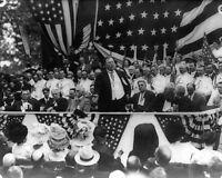 PRESIDENT WILLIAM HOWARD TAFT SPEECH 1911 8x10 SILVER HALIDE PHOTO PRINT