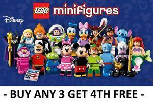 GENUINE LEGO MINIFIGURES DISNEY SERIES 1 71012 PICK CHOOSE + BUY 3 GET 1 FREE