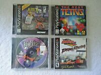 Lot Of 4 Playstation Games Read Info And See All Pics For Titles,etc.